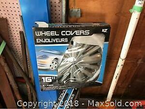 16 In Wheel Covers. A