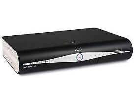 Sky box + router + remote