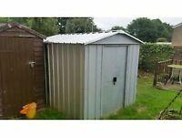 metal yard master shed