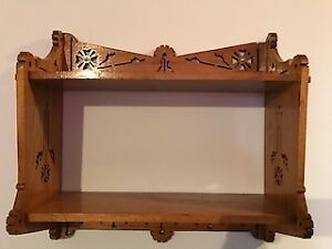 Antique Shelve - Hand Scrolled