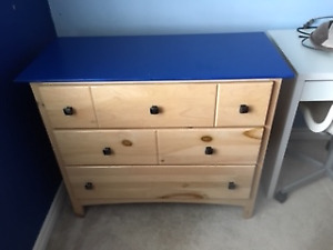 Kid's Dresser and Night Table
