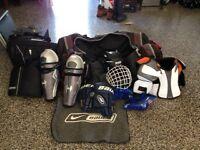 Équipement de hockey complet