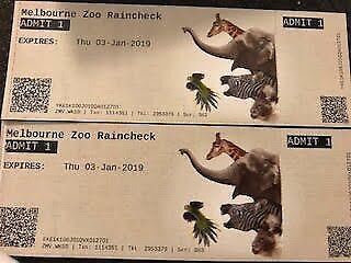 **DISCOUNT Melbourne ZOO tickets**