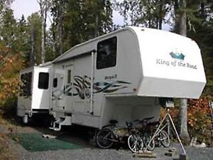 34' RV trailer King of the Road Marquis II