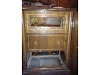 antique grammerphone cabinet