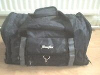 Small black 'Fitness First' gym/sports bag