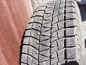 Four Bridgestone Winter Tires, used one season