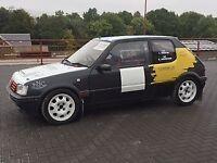 Peugeot 205 Gti 1.6 Rally car