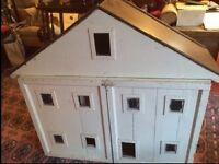 Dolls House perfect for refurb project Canadian timber ONLY £18!