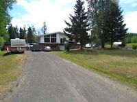 Very private home on 40 acres in Dunkley area