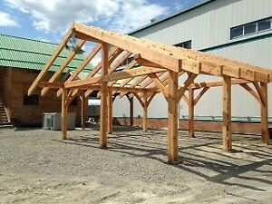 Timberframe Structure for Sale