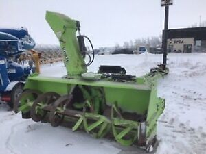 2005 Schulte 9600F Front Mount Snowblower with Push Frame.