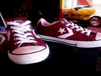 CONVERSE ONE STAR BURGUNDY SIZE 3