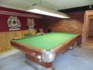 5x10' Brunswick Anniversary Billiards Table