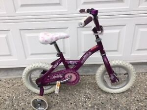 "Like New Raleigh Pixie 12"" Girls Bicycle"