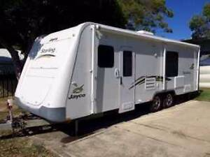 Travel Australia while earning money. Caravan and car. Helensvale Gold Coast North Preview