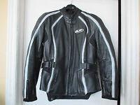 Manteau cuir hjc 10-12 ans