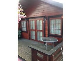 One Bed Log Cabin to rent Pitsea / Benfleet area suit single person only