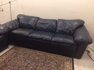 Leathet sofa set - Sofa en cuir