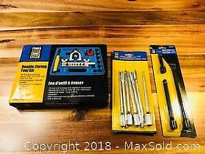 Double Flaring Tool Kit and More
