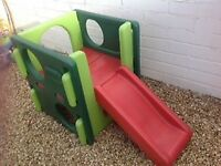 Little Tikes Slide and Gym Cube