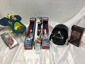 NEW Star Wars Toys, and Spacecraft Toy