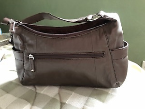 New soft leather Wilson purse - brown