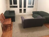 Household furniture for QUICK sale - sofa, dining tables, beds, desk, drawers