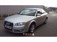 Audi a4 2.0 TDI BMM Engine breaking silver same parts as a6 subwoofer doors dash boot