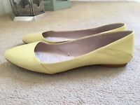 Zara leather shoes. Size 7