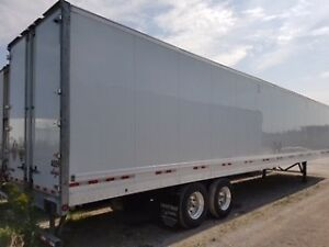 2018 Manac 53' Dry Van Trailer for RENT!