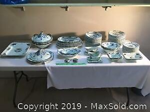 George Schmider Zell Germany Dinner set from 1925