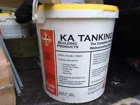 4 Tubs of KA Tanking slurry