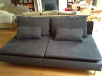 Three-seater sofa, excellent condition (one year old)