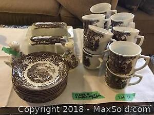 Ironstone China Cups And Saucers Plus