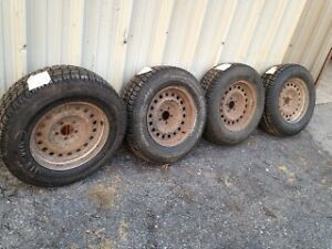 225 70 R16 -  4  New Arctic Mud & Snow Tires- Used 5 x 115  Rims