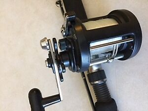 Shimano Triton Down Rigger Rod and Reel