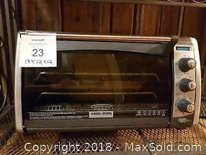 Black and Decker Convection Oven.