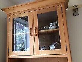 Dresser top As new Solid light oak