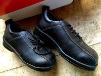 WORK SHOES SAFETY FOOTWEAR - UK SIZE 3 - BRAND NEW - STEEL TOE -BUSINESS INDUSTRIAL WAREHOUSE OFFICE