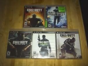 CALL OF DUTY GAMES Peterborough Peterborough Area image 1