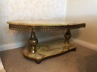 Lovely Onyx Coffee Table for Sale