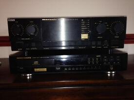 Marantz PM-45 Amplifier and CD Player 67 MK2 SE
