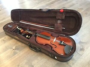 1/4 size stentor violin with Kuhn $275
