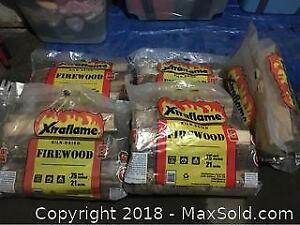 Lot Of 5 Firewood Bags New