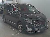 Nissan Elgrand E52 black 2.5 auto japanese import 4.5 grade 37k miles 2010