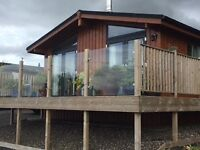 Luxury 3 bedroom lodge situated on the banks of Loch Leven