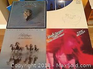 Lot Of Four Vintage Record Albums