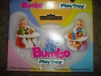 Bumbo seat tray.Great condition.Fully boxed