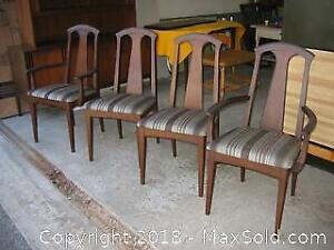 Set of Four Mid Century Modern Dining Chairs B